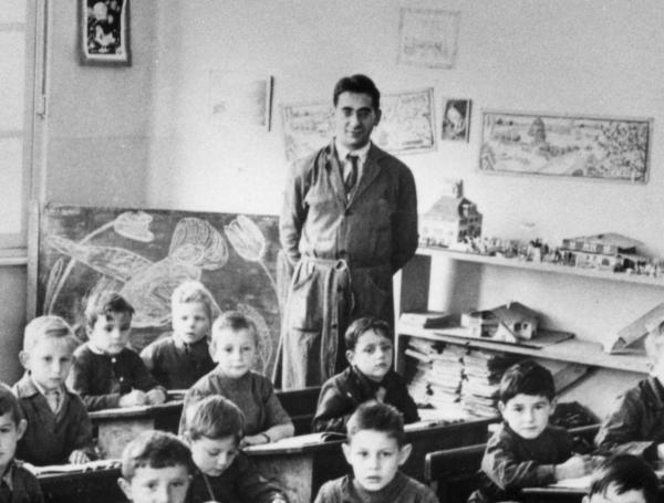 La classe de Georges Archipoff vers 1960
